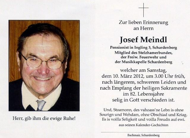 Josef Meindl
